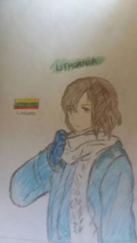 [APH] Lithuania by Sophiechan6