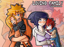 NH-A loving Family by PinkPinkerton