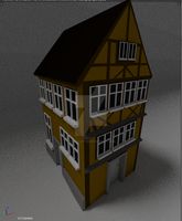 Old Fashioned House by phatality123