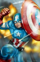 Captain America by GudFit
