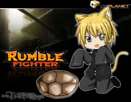 Rumble Fighter kid by Darkness1999th