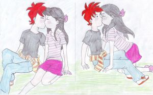 Phineas and Isabella in real life by TuDoRlUcIa