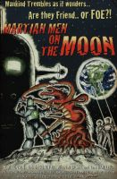 Martian Men on the Moon by shaloop