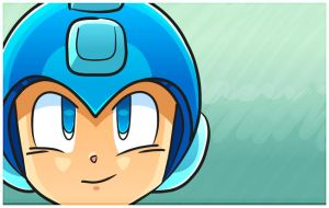 MegaMan by duckfarm