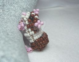 Beaded Hamster by lenneheartly