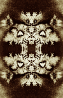 Decorative pattern - sepia by in2ni