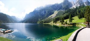 Lake and Mountains by Rovit