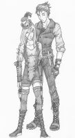 Steampunk fourtris by chrysalisgrey