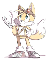 Sonic Boom: Tails by Blue-Chica