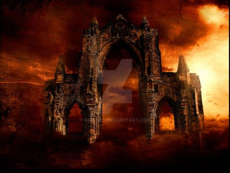 Gates of Hell by Ana-Lyn