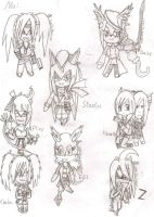 Chibi Request and gifts pack 1 by FumikoMiyasaki