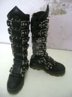 Wyvern Boots by VioletteChimaera