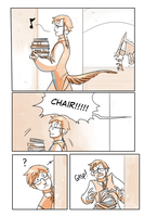 The Literate Ch.2 p1 by TeaDino