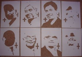 Masterchef UK Handcut Stencils by RAMART79