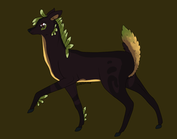 Deer Design Commission by crwz