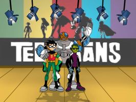 Teen Titans Boys by sibred
