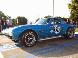 Corvette Stingray Grand Sport by Partywave