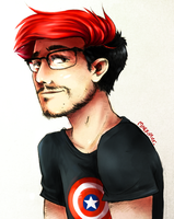 markiplier. by Arkeresia