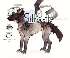Silhouette Traditional Reference Sheet by tuliplou