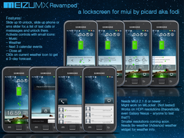 Meizu MX Revamped Lockscreen for MIUI by fodi666