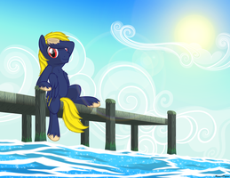 At The Docks by BurnedPigeon