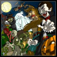 Happy Halloween to you all by NaguX