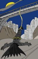bungee batman by wookieebasher