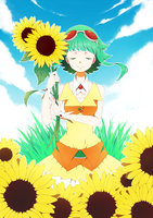 Gumi's Sunflowers by Erumi-n