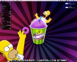Homer Simpsons Squishee by deskplanet