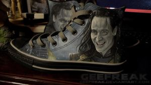 Thor: The Dark World- Loki converse by GeeFreak
