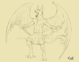 Duamutef Commission by CindyAA