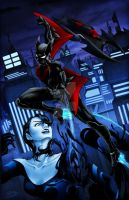 Batman Beyond (colored) by EbiShrimpy