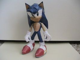 Sonic the Hedgehog papercraft by may7733