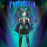 Electronic Poppuricia by xsugarcastx
