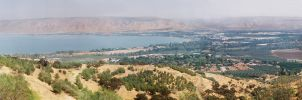 Sea of Galilee. Panorama View | Israel by hickis