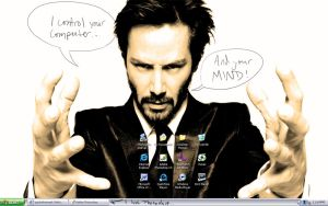 Keanu Controls My Laptop by JennHolton