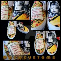 Kill Bill Custom Vans by VeryBadThing