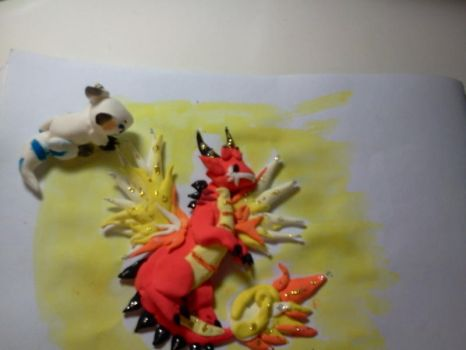 Dead heat clay art by Liestiawati
