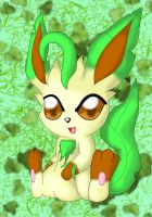 Cute Leafeon by NIGHTSandTAILSFAN