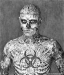 Rick Genest Zombie Boy by mad-and-loony