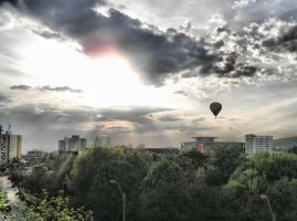 Hot air balloon by ale2xan2dra