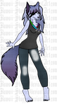 Wolf Anthro Adopt .:CLOSED:. by Kawaii-Shoppe