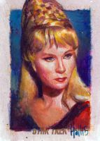 star trek 50th oil sketch 16 by charles-hall
