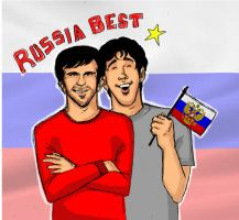 Russia Best by zombiepencil
