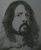 dave grohl foo fighters by adamyayad