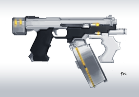 Sci-Fi SMG by Philip-027