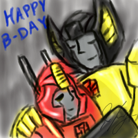 Happy B-Day Starscream225647 by TaintedTamer