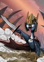 Bird Battle by Spartan0627