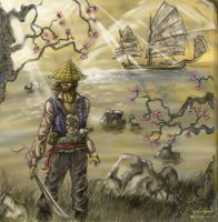 The Pirate of Singapore by yusef-abonamah