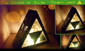 Triforce lamp by Siinys